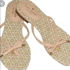 Authentic Kate Spade Pink Sandals